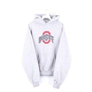 90s Champion Ohio State University Hoodie Mens M
